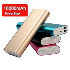 Dual USB output 16000mAh Power bank Portable External Battery Charger For Xiaomi iphone samsung cellphones and tablet #clothing,#shoes,#jewelry,#women,#men,#hats,#watches,#belts,#fashion,#style