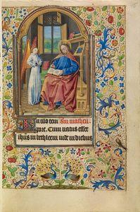 Saint Matthew, French, about 1466 - 1470 Ms. Ludwig IX 11, fol. 15
