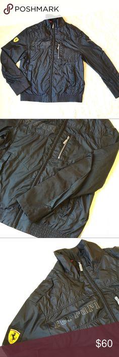 14b267a37 Ferrari Puma Black Mens Moto riding jacket Small Mens FERRARI Puma black  Moto riding jacket.