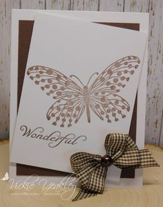 DD9ABC3C Chocolate Chip Butterfly vky by Vickie Y - at Splitcoaststampers