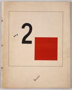 CONSTRUCTIVISME RUSSE - El Lissitzky - Histoire de Deux carrés, album pour enfants