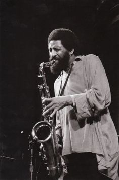 Sonny Rollins at the Great American Music Hall, San Francisco, early 1990s.