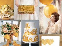 {marigold} marigold yellow wedding
