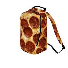 #pepperonipizza by #cheftreejenkins #alloverprint #pepperoni #pizza #backpack #bookbag #citrusreport @The Citrus Report