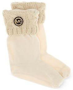MICHAEL Michael Kors Boot Liners, Faux-Fur Boot Liners - Shoes - Macy's