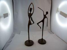 2.Tänzerinnen Bronze? Metall Messing? Kunst Handarbeit