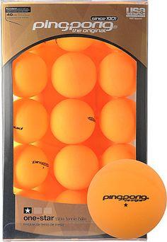 Ping Pong 39 Pack 1* Orange Table Tennis Balls
