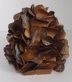 My scrap chick.  Pine Cone box