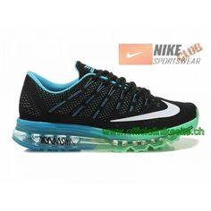 Nike Air Max 2016 Chaussures Nike Running Pas Cher Pour Homme Noir/Bleu/Vert/Blanc-Boutique de Chaussure Nike France,Livraison Gratuite!Nike Air Max pas cher,Homme & Femme en Linge. 98,99�