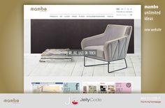 Mambo Unlimited Ideas - new website developed by JellyCode - web & graphic design.