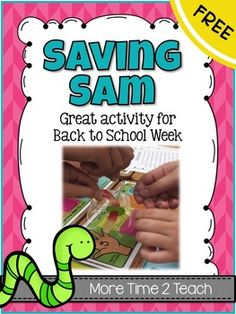 Saving Sam is a great Back To School activity that my students love to complete each year! Not only does it promote teamwork, but it requires students to problem solve as well.What I love about this activity, besides the fact that my kids think it's FUN, is that I get to see first hand their problem solving skills, their ability to work together as a group, and I get a glimpse of their writing skills.