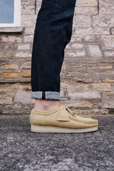 Wallabee in maple suede   #ClarksOriginals #Mens #Clarks #SS15 #Boots #Shoes #Wallabee