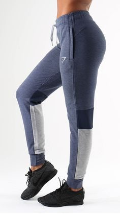 Impulse Joggers in sapphire blue are cuffed training bottoms - brilliant on their own, and spectacular when paired with the Impulse Pullover. Made from a soft polyester/rayon blend, with mesh for additional comfort.