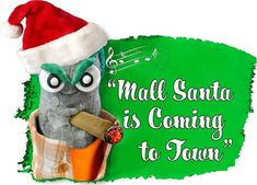 """""""MALL SANTA IS COMING TO TOWN"""" as performed by Ed the Sock and the Ed the Sock Atonal Unrehearsed Choir. Best of the Season to you! #FUNNYSOCKS #FUNSOCKS #FUNKYSOCKS #SOCKS #SOCKSWAG #SOCKSWAGG #SOCKSELFIE #SOCKSLOVER #SOCKSGIRL #SOCKSTYLE #SOCKSFETISH #SOCKSTAGRAM #SOCKSOFTHEDAY #SOCKSANDSANDALS #SOCKSPH #SOCK #SOCKCLUB #SOCKWARS #SOCKGENTS #SOCKSPH #SOCKAHOLIC #BEAUTIFUL #CUTE #FOLLOWME #FASHION"""