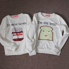 20 camisetas creativas para parejas que derretirán tu corazón. #camisetas #amor #creatividad #diseño