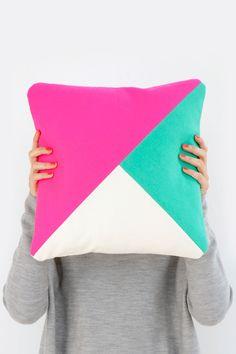 Technicolour Cushion #2