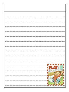 Flat stanley worksheets first grade