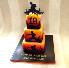 Martial Art Cake :) by Storyteller Cakes