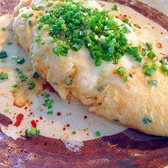 簡単!速い!美味しい❤︎ - 35件のもぐもぐ - Brunch 卵掛けご飯のオムレツ〜とろけるチーズと葱たっぷり〜 by pretties