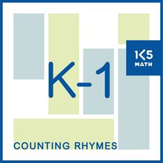 Counting Rhymes provide opportunities to practice counting forwards and backwards, numeral recognition, using ordinal numbers, addition and subtraction. Kindergarten Goals, Kindergarten Math Activities, Numbers Kindergarten, Teaching Math, Math Tools, Math Skills, Counting Rhymes, Ordinal Numbers, Addition And Subtraction