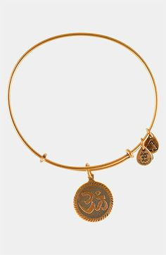 Alex and Ani 'Om' Wire Bangle available at #Nordstrom $24