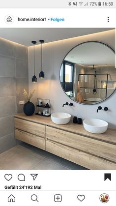 Home Room Design, Dream Home Design, Home Interior Design, Bathroom Design Inspiration, Bathroom Design Luxury, House Rooms, Small Bathroom, Light Bathroom, Bathroom Modern