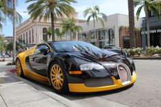 Los Angeles, Beverly Hills, Rodeo Drive, Bugatti Veyron