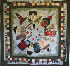 I LOVE this quilt! via http://www.robianappliquedesigns.com.au/Gallery_Photos/VillageJill-S.jpg