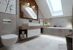 Bathroom Interior Design, Double Vanity, Bathtub, House, Standing Bath, Bath Tub, Haus, Bathtubs, Home