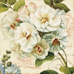 オールポスターズの リサ・オーディット「Les Jardin III」ポスター