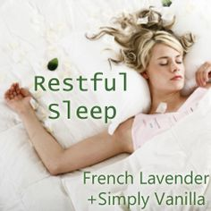 "Scentsy Scent Bar Recipe. ""Restful Sleep""."