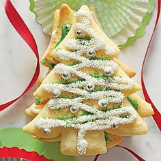 A coating of Key Lime Glaze lends citrusy flavor to your favorite sugar cookies.