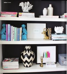 Perfectly Styled Bookshelves