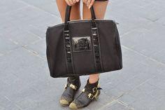 Victoria's Secret Bag & Studded boots