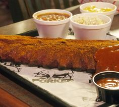 Peg Leg Porker: Memphis ribs in #Nashville and they are so damn good!