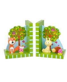 Orange Tree Toys ★ Buchstützen Wald