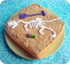 Archeology cake-Liam's Birthday Party?