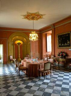 Dining room at Château Villandry