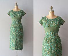 1950s dress / vintage 50s dress / The Village by DearGolden
