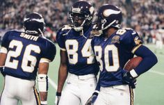Robert Smith, Randy Moss & Cris Carter - those were the days...