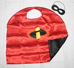 (Incredibles) ROXX Cape and Mask Costume for Child Superhero Kids Girl Boy - http://our-shopping-store.com
