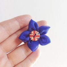 Olympics Special! Union Jack Brooch or Lapel Flower