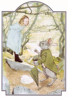 Nick Hewetson: Alice in Wonderland Alice In Wonderland Illustrations, Alice In Wonderland Book, Adventures In Wonderland, Lewis Carroll, Postcard Book, Children's Book Illustration, Fairy Tales, Drawings, Vintage Illustrations