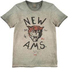 Scotch & Soda Cotton jersey T-shirt Prints - 77101   Melijoe.com