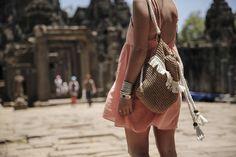 camboya cambodia angkor wat trendy taste summer trip outfit look dress sneakers stan smith vestido zapatillas asos adidas _24
