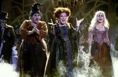 Sanderson Sisters. #Winifred, Mary, and Sarah