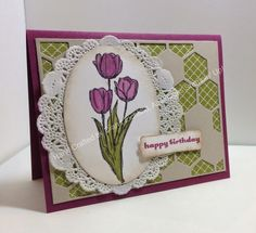Stampin' Fun with Diana: Stylin' Stampin' INKspiration All About Birthdays: Blessed Easter