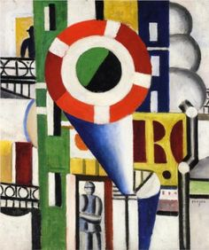 A Disc in the City - Fernand Leger