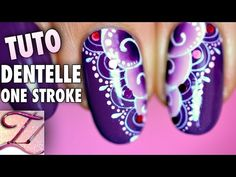 3 Tutos nail art : dégradé sans mousse inratable, rose one stroke rapide, tour Eiffel - YouTube