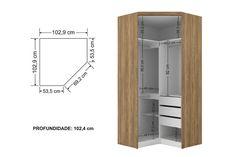 32 Ideas walk in closet size bedrooms Walk In Closet Size, Corner Closet, Corner Wardrobe, Wardrobe Design Bedroom, Wardrobe Storage, Bedroom Wardrobe, Small Closet Design, Closet Designs, Bedroom Cupboard Designs